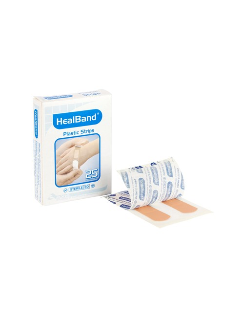 Healband® Fabric Strips, 72x20mm, 25's