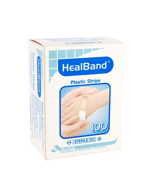 Healband® Fabric Strips, 72x20mm, 100's