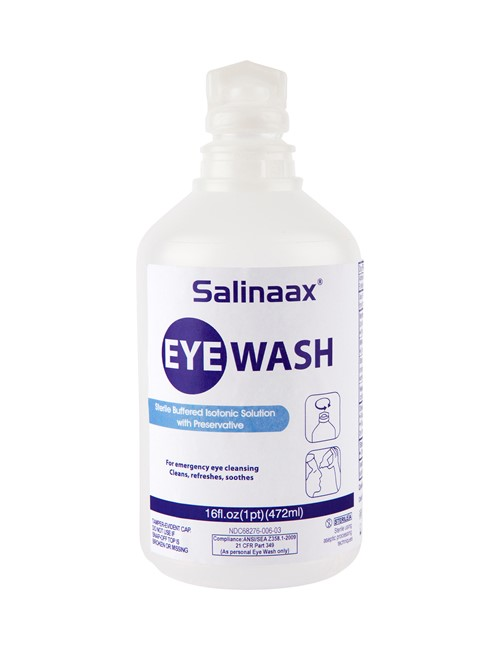 Salinaax Eye Wash Preserved, 472ml
