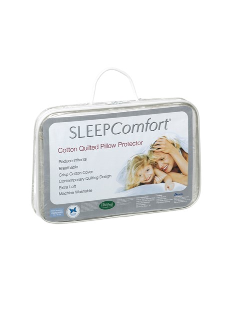 SCP Pillow Protector Quilted, Standard